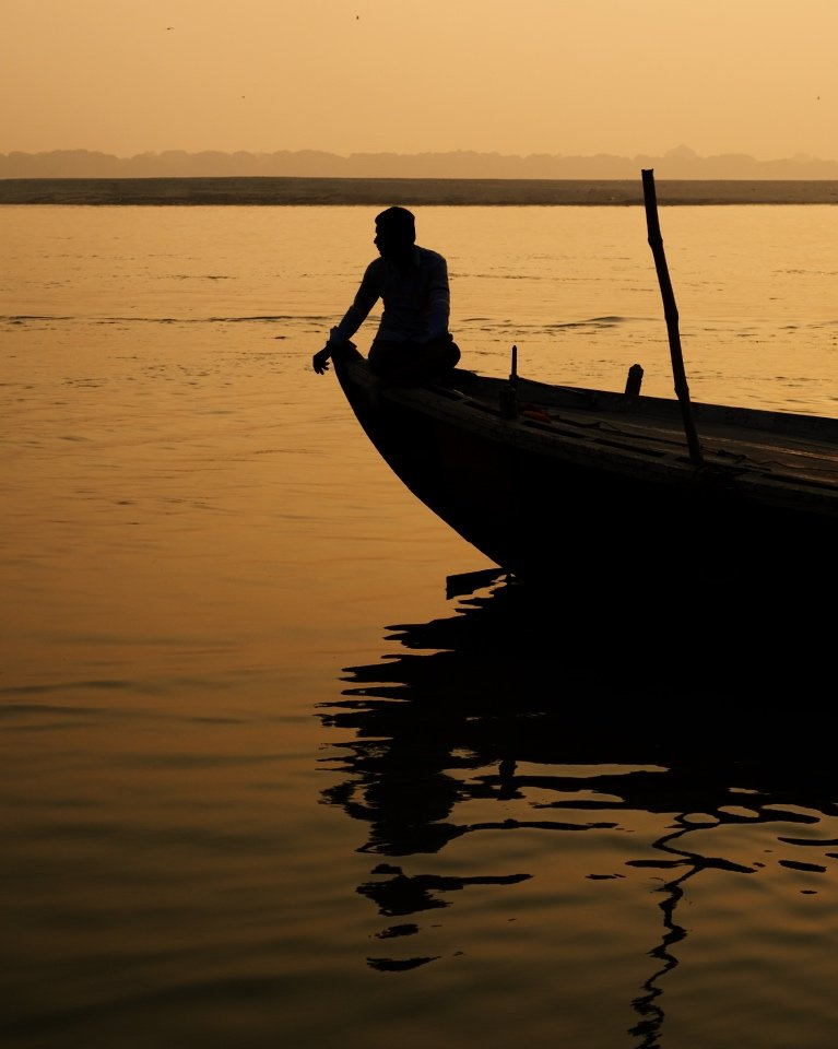 Photographing India: The Ganges river in Varanasi
